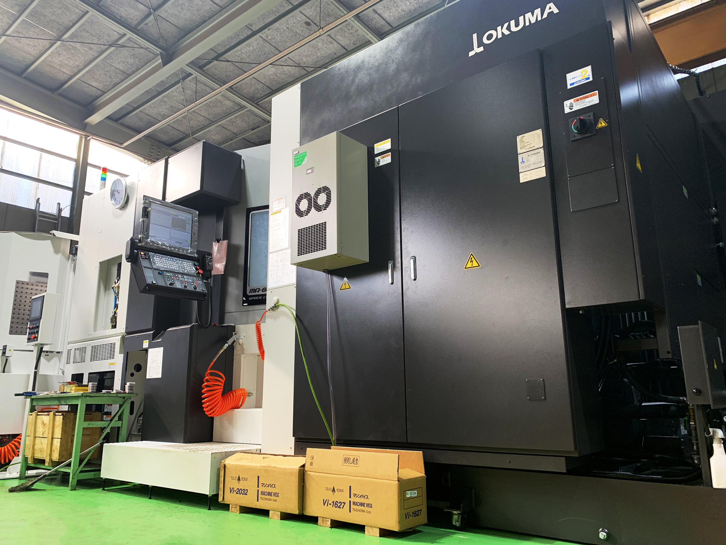 横型マシニングセンタMA-600H2